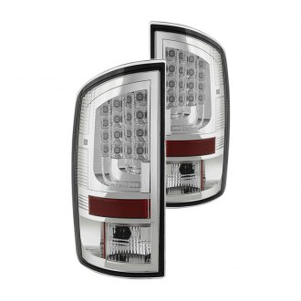 Spyder® - Chrome Fiber Optic LED Tail Lights