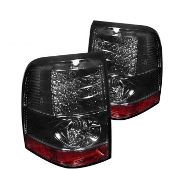 2002 Ford Explorer Custom Amp Factory Tail Lights Carid Com
