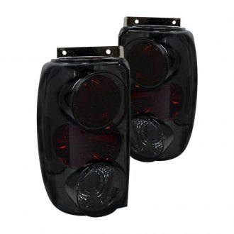 Spyder® - Black Red/Smoke Euro Tail Lights