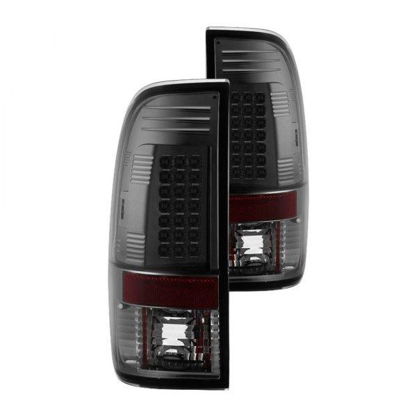 spyder alt yd ff15097 led sm black smoke led tail lights. Black Bedroom Furniture Sets. Home Design Ideas