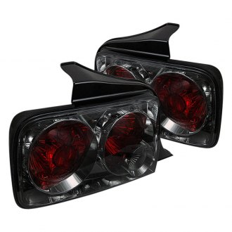 Spyder® - Chrome Red/Smoke Euro Tail Lights