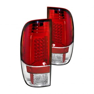 Spyder® - Chrome/Red LED Tail Lights