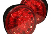 Spyder® - Chrome/Red Trunk LED Tail Lights