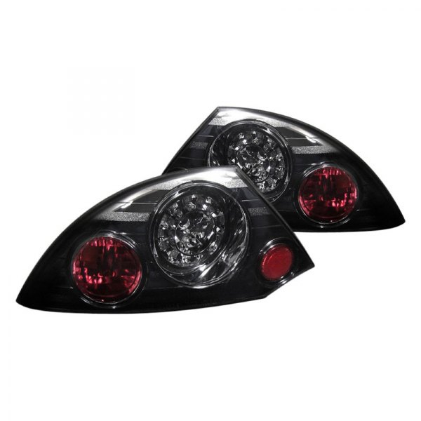 led tail lights spyder black red smoke led tail lights spyder. Black Bedroom Furniture Sets. Home Design Ideas