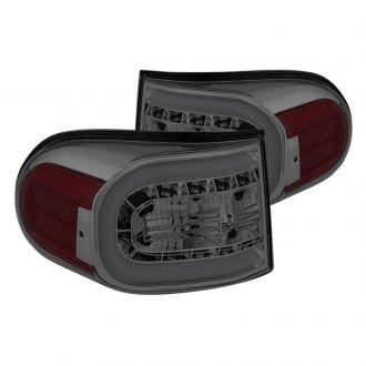 Spyder® - Chrome Red/Smoke Fiber Optic LED Tail Lights