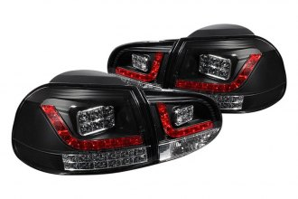 Spyder® - Black/Red Fiber Optic LED Tail Lights