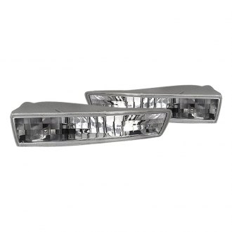 Spyder® - Chrome Crystal Turn Signal/Parking Lights