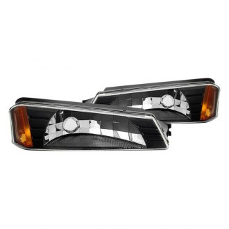 Spyder® - Black Factory Style Turn Signal/Parking Lights