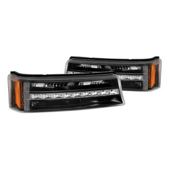 Spyder® - Black/Chrome LED Turn Signal/Parking Lights