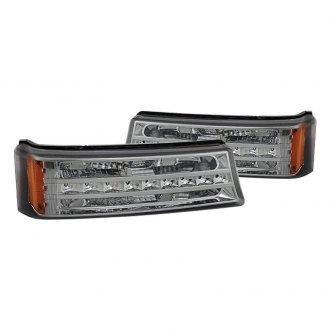 Spyder® - Chrome/Smoke LED Bumper Lights