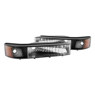 Spyder® - Black Euro Bumper Lights