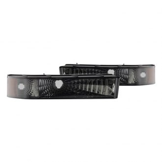 Spyder® - Chrome/Smoke Euro Bumper Lights