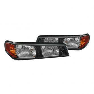 Spyder® - Black Crystal Turn Signal/Parking Lights
