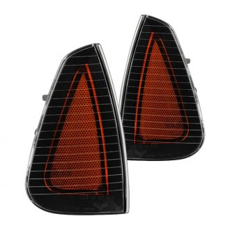 Spyder® - Black Crystal Turn Signal/Corner Lights