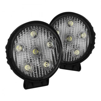 "Spyder® - 4"" Chrome LED Fog Lights"