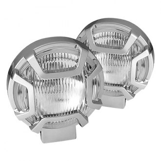 "Spyder® - 5"" Chrome Fog Lights with Switch"