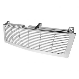 Spyder® - 1-Pc Chrome Horizontal Main Billet Grille