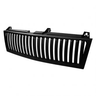 Spyder® - 1-Pc Black Vertical Main Billet Grille