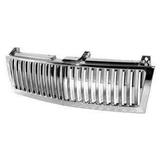 Spyder® - 1-Pc Chrome Vertical Main Billet Grille