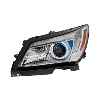 Spyder® - Chrome Factory Style Projector Headlight with LEDs