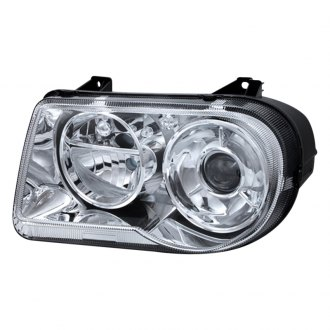 Spyder® - Chrome OEM Style Projector Headlights