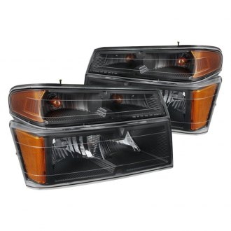Spyder® - Black OEM Style Headlights with Bumper Lights