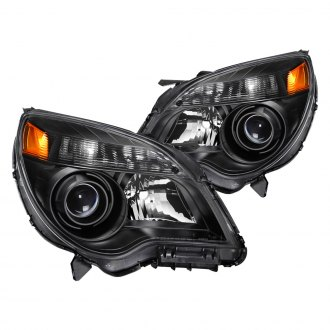 Spyder® - Driver and Passenger Side Black Factory Style Headlights