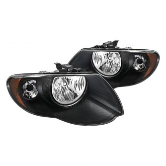 Spyder® HD-JH-CHRTC05-AM-BK - Black Euro Headlights