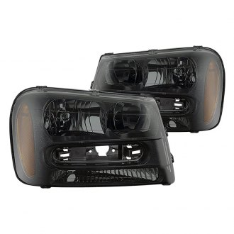 2004 chevy trailblazer custom factory headlights. Black Bedroom Furniture Sets. Home Design Ideas
