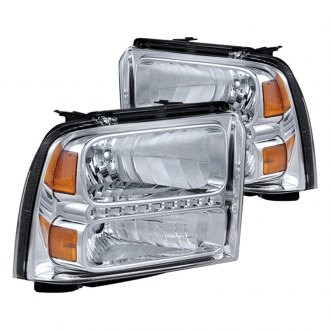 Spyder® - Chrome LED Euro Headlights