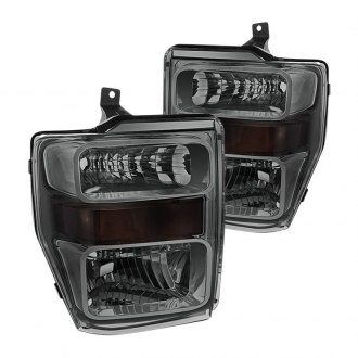 Spyder® - Driver and Passenger Side Chrome/Smoke Factory Style Headlights