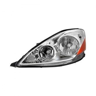 2006 toyota sienna custom factory headlights carid com spyder® chrome factory style headlight