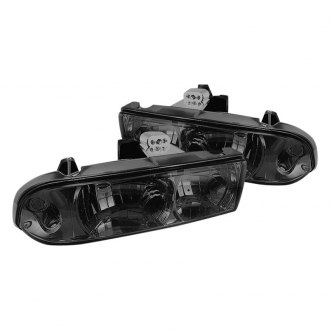 Spyder® - Chrome/Smoke Euro Headlights
