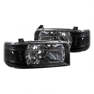 Spyder® - Black Euro LED Headlights