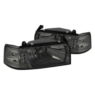 Spyder® - Chrome/Smoke Euro LED Headlights