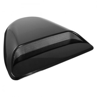Spyder® - EVO Style Air Flow Black Hood Scoop