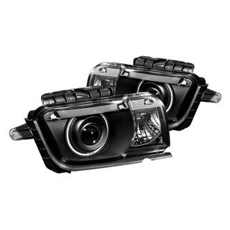 Spyder® - Black CCFL Halo Projector LED Headlights