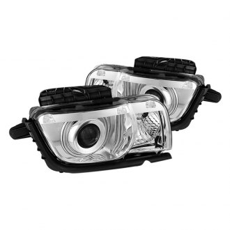 Spyder® - Chrome CCFL Halo Projector LED Headlights