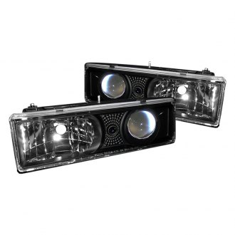 Spyder® - Black Projector Headlights