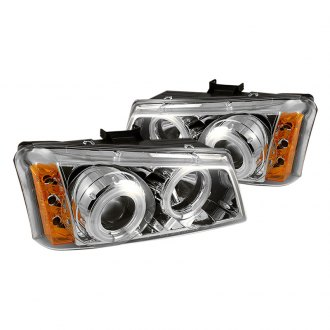 Spyder® - Chrome Halo Projector LED Headlights