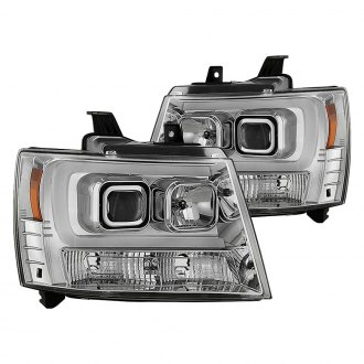 Spyder® - Chrome Projector U-Bar Headlights