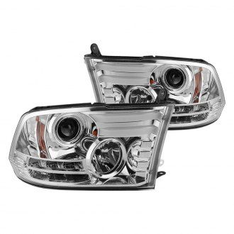 Spyder® - Chrome Projector LED Headlights with DRL