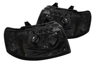 spyder pro yd fe03 hl sm chrome smoke halo projector. Black Bedroom Furniture Sets. Home Design Ideas