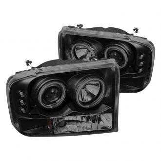 Spyder® - Black/Smoke Halo Projector LED Headlights