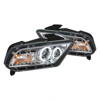 Spyder® - Chrome CCFL Halo Projector LED Headlights with DRL