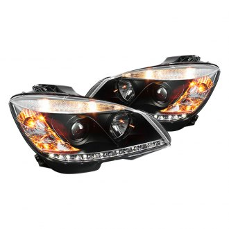 Spyder® - Black Projector LED Headlights with DRL