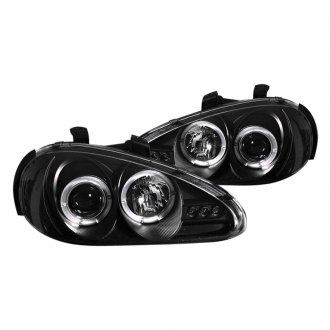Spyder® - Black Halo Projector LED Headlights