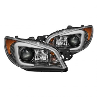 Spyder® - Black LED DRL Bar Projector Headlights