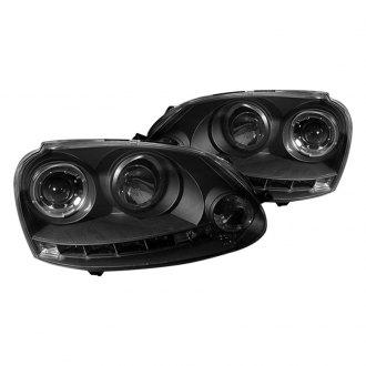 2009 volkswagen jetta custom factory headlights. Black Bedroom Furniture Sets. Home Design Ideas
