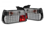 SPYDER� - Black LED Tail Lights - E36 4DR